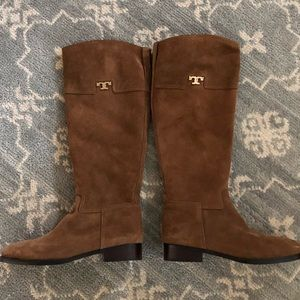 Tory Burch Suede Wembley Boots